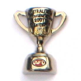 2001 AFL Premiership Cup Pin Badge