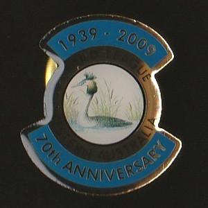 2009 Gould League WA 70th Anniversary Badge Pin
