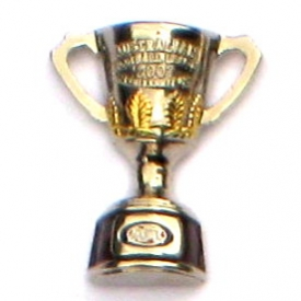 2007 AFL Premiership Cup Pin Badge