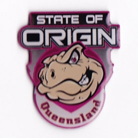 2008 QLD Canetoads State of Origin LE Pin Badge