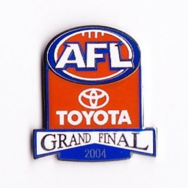 2004 AFL Grand Final Member Pin Badge