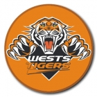 2009 Wests Tigers NRL Logo SS Button Badge