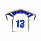 2003 Canterbury Bankstown Bulldogs NRL Jersey Pin Badge No 13