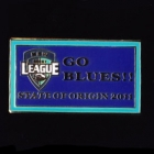 2011 NSW State of Origin Go Blues Pin Badge