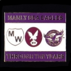 2011 Manly Warringah Sea Eagles NRL Through the Years Pin Badge