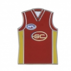 2011 Gold Coast Suns AFL Jersey Trofe Pin Badge