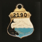 1977 Cronulla Sutherland Leagues Club Member Badge