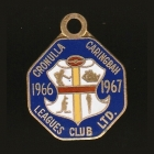 1966-67 Cronulla Caringbah Leagues Club Associate Member Badge