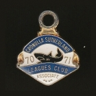 1970-71 Cronulla Sutherland Leagues Club Associate Member Badge