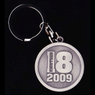2009 Canterbury Bankstown Bulldogs NRL Member Keyring Badge