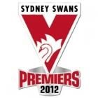 2012 Sydney Swans AFL Premiers Pin Badge