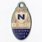 1970 Newtown Leagues Club Member Badge
