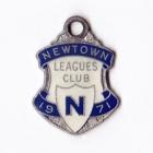 1971 Newtown Leagues Club Member Badge