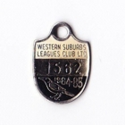 1984-85 Western Suburbs Leagues Club Member Badge