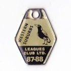 1987-88 Western Suburbs Leagues Club Member Badge