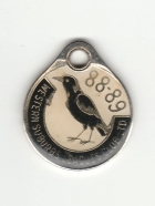 1988-89 Western Suburbs Campbelltown Leagues Club Member Badge