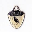 1988-89 Western Suburbs Leagues Club Member Badge