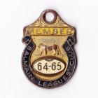 1964-65 Balmain Leagues Club Member Badge