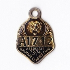 1973-74 Balmain Leagues Club Associate Member Badge