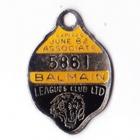 1981-82 Balmain Leagues Club Associate Member Badge