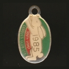 1985 South Sydney Leagues Club Member Badge o
