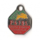 1984 South Sydney Leagues Club Pensioner Member Badge