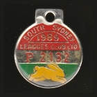 1989 South Sydney Leagues Club Pensioner Member Badge