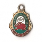 1969 South Sydney Leagues Club Associate Member Badge