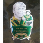 2012 Rugby League Immortal Bob Fulton Badge Pin