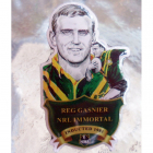 2012 Rugby League Immortal Reg Gasnier Badge Pin