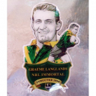 2012 Rugby League Immortal Graeme Langlands Badge Pin