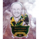 2012 Rugby League Immortal Wally Lewis Badge Pin