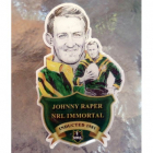 2012 Rugby League Immortal Johnny Raper Badge Pin