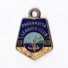 1969 Parramatta Leagues Club Member Badge