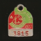 1977 Parramatta Leagues Club Associate Member Badge