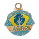 1979 Parramatta Leagues Club Associate Member Badge