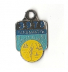 1980 Parramatta Leagues Club Associate Member Badge