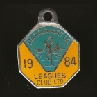 1984 Parramatta Leagues Club Associate Member Badge