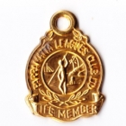 1970s Parramatta Leagues Club Life Member Badge
