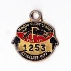 1977 Penrith Leagues Club Associate Member Badge