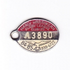 1984-85 Manly Warringah Leagues Club Associate Member Badge