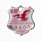 1988-89 Manly Warringah Leagues Club Associate Member Badge