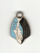 1971-72 Cronulla Sutherland Leagues Club Associate Member Badge