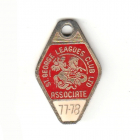 1977-78 St George Leagues Club Associate Member Badge
