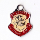 1992-93 St George Leagues Club Associate Member Badge