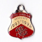 1993-94 St George Leagues Club Associate Member Badge