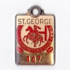 1987 St George R.L.F.C Supporters Club Member Badge
