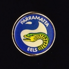 1992 Parramatta Eels NSWRL Billy Tea Pin Badge