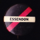 1960s Essendon Bombers VFL Small Button Badge