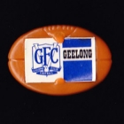 1968 Geelong Cats VFL RL Smiths Chips Plastic Pin Badge